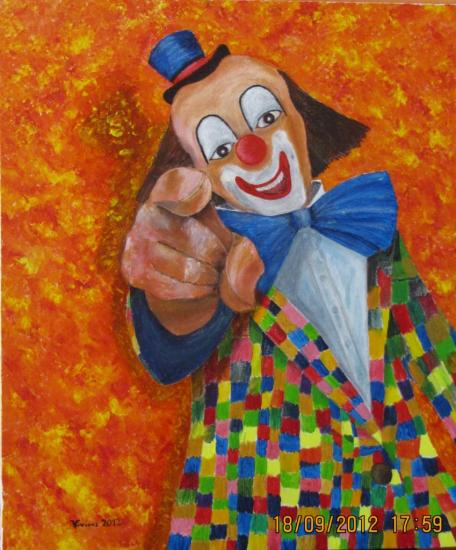 BIDULE LE CLOWN