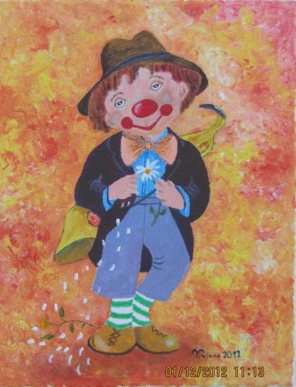 Clown  pour Antoine
